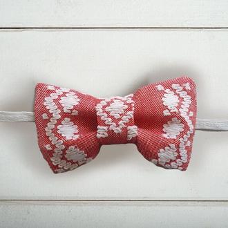 Кролевецкая галстук-бабочка для жениха и\или свидетелей в украинском стиле