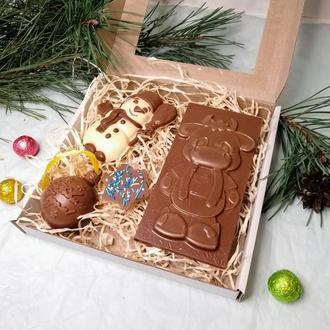 Набор шоколадных изделий ручной работы из бельгийского шоколада