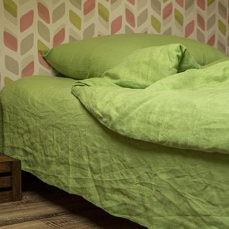 Комплект постельного белья из варенного белорусского льна