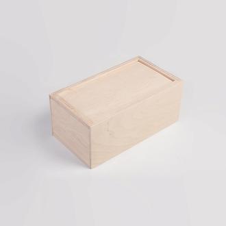 Фанерная коробка-пенал для подарков