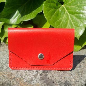 Картхолдер (монетница) конверт (red)