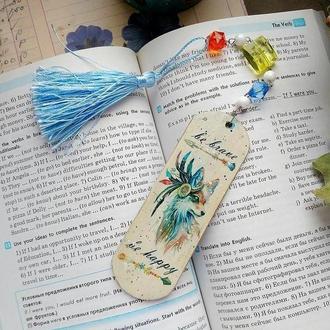 """Закладка для книг """"Ветренные мечты"""""""