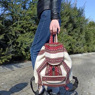 Вышитая сумка-рюкзак
