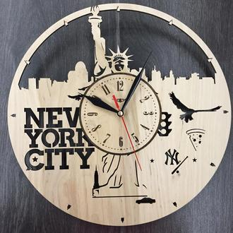 Часы настенные «Нью-Йорк. Статуя Свободы»