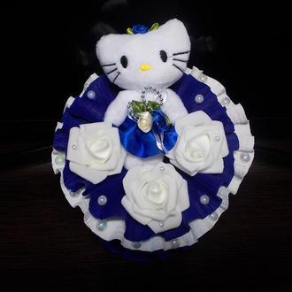 "Букет из мягкой игрушки ""Kitty elegance"""