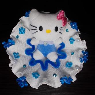 """Kitty Flower"" Букет. Мягкая игрушка. Китти."