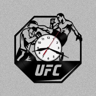 Настенные часы из винила UFC