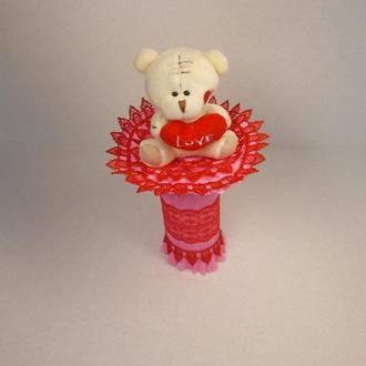 "Букет из мягкой игрушки ""Тедди Шарман 1"""