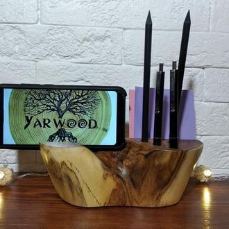 Визитница и подставка под смартфон  Card holder and Stands for smartphone or tablet