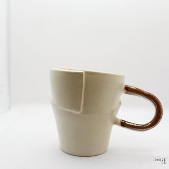 керамическая чашка для чая авторского дизайна DECONSTRUCTED