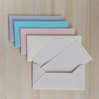 """Набор конвертов для денег """"Пастельные цвета"""""""