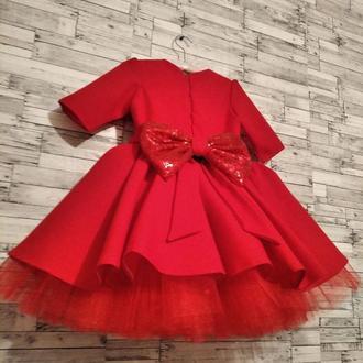 Детское праздничное нарядное платье для девочки