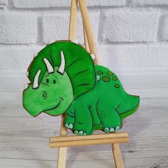 Имбирные пряники динозавры