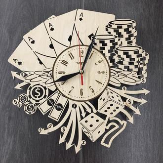 Дизайнерские настенные часы «Лас Вегас»