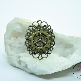Стимпанк кольцо. Кольцо в стиле стимпанк