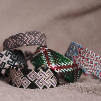 Фенечки или браслеты дружбы из мулине