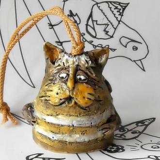 Кот колокольчик в виде кота