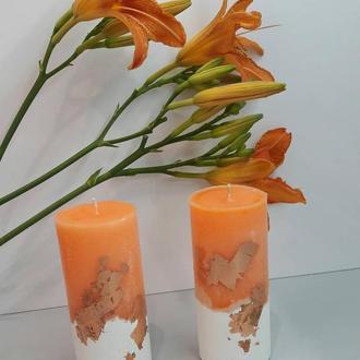 Свічка на бетонній основі