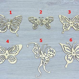 Декор из фанеры бабочка (2247)