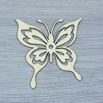 Декор из бабочек ручной работы (форма №6) (2253)