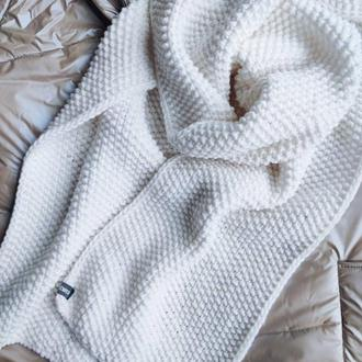 Шарф Rice, вязаный объемный шарф, подарок девушке