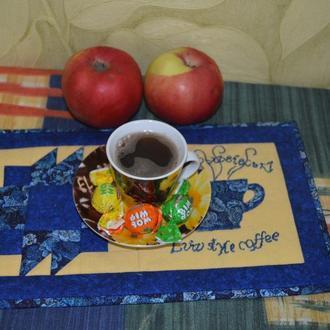 Подставка под чашку, гарячее или ланчмат ′Кава по-львівські′