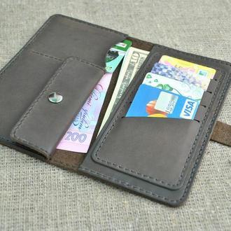 Стильный кошелек из натуральной кожи K23-450