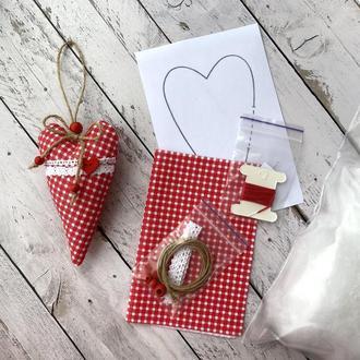 Набор «Пошей валентинку сам»