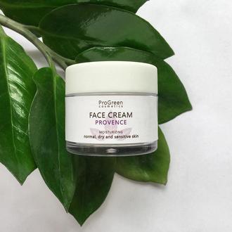 Увлажняющий крем для лица для нормальной и сухой кожи «Provence»