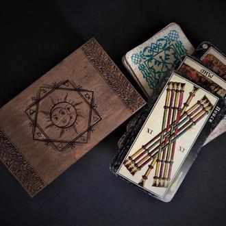 "Коробочка для карт Таро ""Алхимия"""