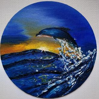 """Картина """"Танець дельфіна"""""""