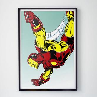 """Постер """"Iron Man / Железный Человек"""""""