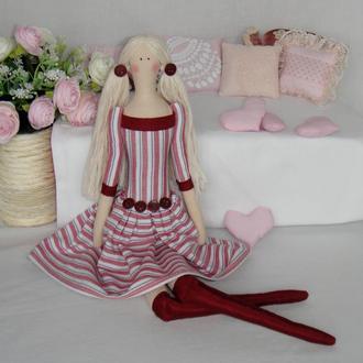 Кукла Тильда 48см Эмми