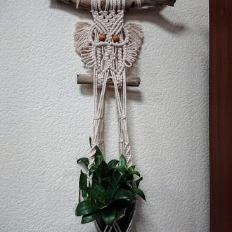Декоративное подвесное кашпо для комнатных растений