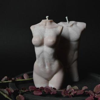 "Пара соевые свечи ""Man & Woman"""