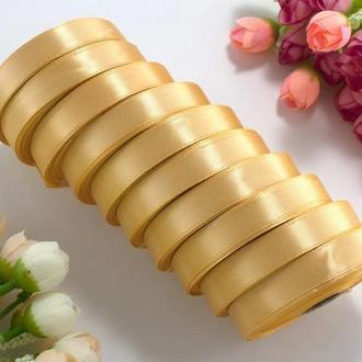 Стрічка атласна медовий 1,2 см (23 метри)