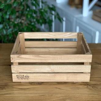 Деревянний ящик (40х30х17 см)