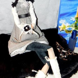 Лялька в стилі тильда