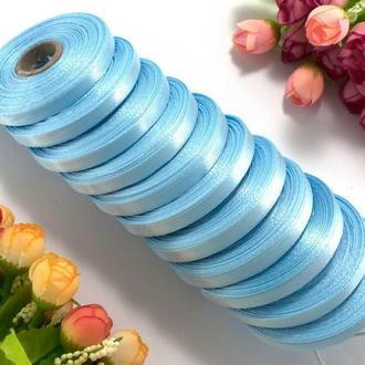Стрічка атласна світло-блакитна 0,6 см (23 метри)