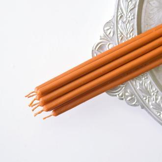 Магическая свеча оранжевая часовая