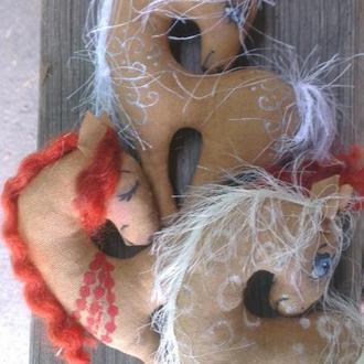 Кофейные лошадки 1, ароматные игрушки