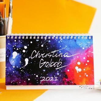 настольный перекидной календарь с авторскими иллюстрациями художницы
