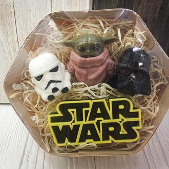 """Подарочный набор  мыла """"Star Wars"""""""