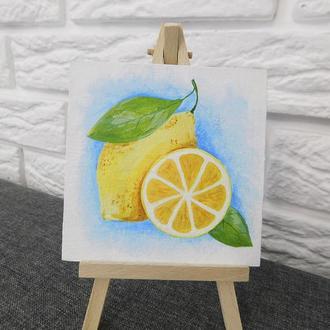 Миниатюра Лимоны