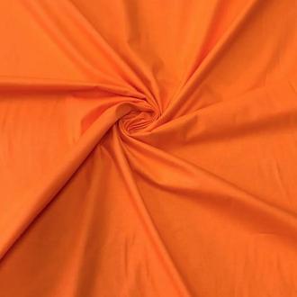 Ткань хлопок для рукоделия апельсиновая