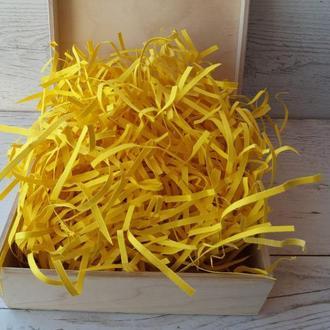 Наполнитель бумажный желтый 50г