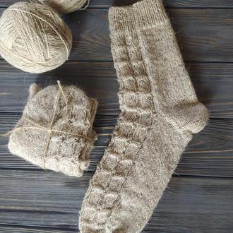В'язані вовняні носки, шкарпетки
