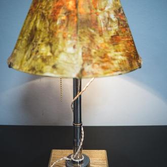 """Настольная лампа с абажуром """"Pride&Joy"""" (Industrial Table Lamp), светильник"""