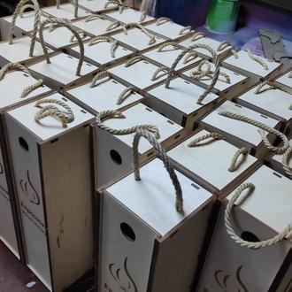 коробка з фанери