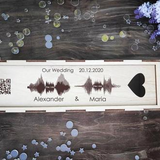 короб с аудио пожеланием